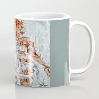 fifth element Mugs featuring LEELOO THE FIFTH ELEMENT by JANUARY FROST