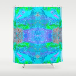 Opal Design by Chrissy Wild Shower Curtain
