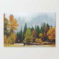 yosemite Canvas Prints featuring Yosemite by Warren Silveira + Stay Rustic