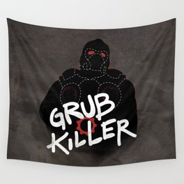 Grub Killer (Red) Wall Tapestry