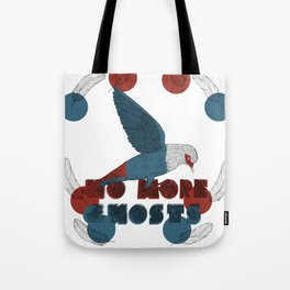No More Ghosts - Mauritius Blue Pigeon Tote Bag