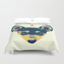 Pet Thoughts Duvet Cover