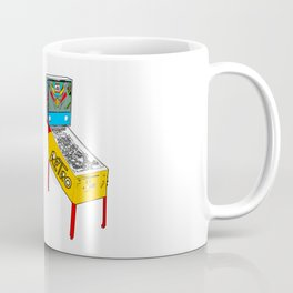 Retro Pinball Coffee Mug