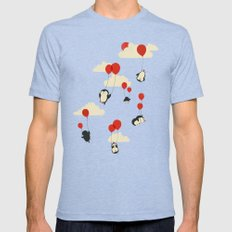 We Can Fly! Mens Fitted Tee MEDIUM Tri-Blue