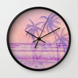 Surf God Wall Clock
