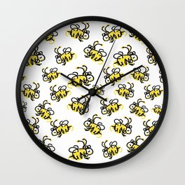 I love Bees Wall Clock