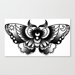 ouija moth Canvas Print