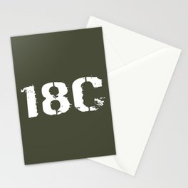 18C Special Forces Engineer Stationery Cards