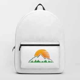 Hiking Lover Hiker | Mountains Gift Idea Backpack
