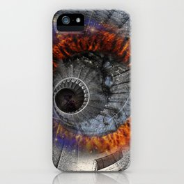 Spiral of Infinity iPhone Case
