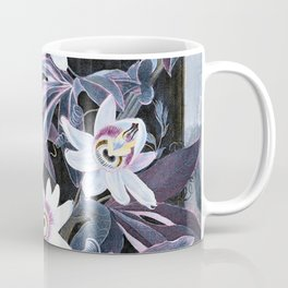 Temple of Flora Pastel Pink Blue Coffee Mug