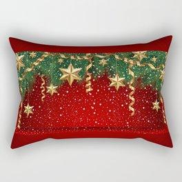 Christmas shopwindow Rectangular Pillow