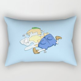 Beyond Repair Dumpty Rectangular Pillow