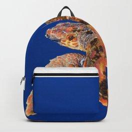 Loggerhead turtle Backpack