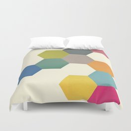 Honeycomb I Duvet Cover