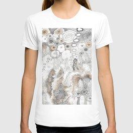 """Gray"" illustration T-shirt"