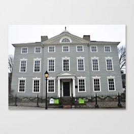 Lee Mansion, Marblehead, MA Canvas Print