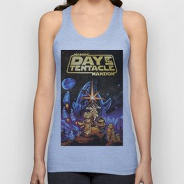 Day of The Tentacle Unisex Tank Top