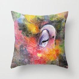 Nebula Cacatuidae Throw Pillow
