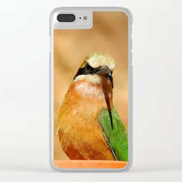Somali bee-eater Clear iPhone Case