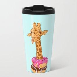 Donuts giraffe Travel Mug