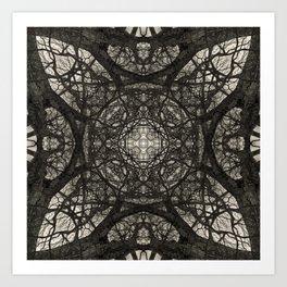 Branching Symmetry Art Print