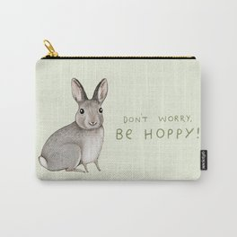 Don't Worry Be Hoppy Carry-All Pouch