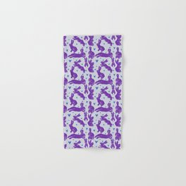 Bunny love - Purple Carrot edition Hand & Bath Towel