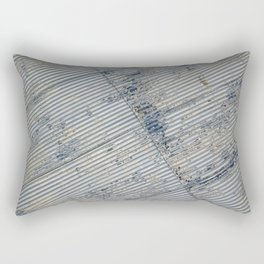 Warehouse District -- Rustic Farm Chic Abstract Rectangular Pillow