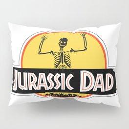 Jurassic Dad Dinosaur Skeleton Funny Birthday Gift 2 Pillow Sham