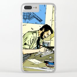 The Engineer Clear iPhone Case
