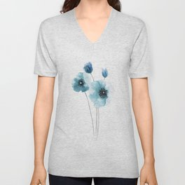 Poppy home decor Unisex V-Neck
