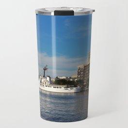 City Across The River Travel Mug