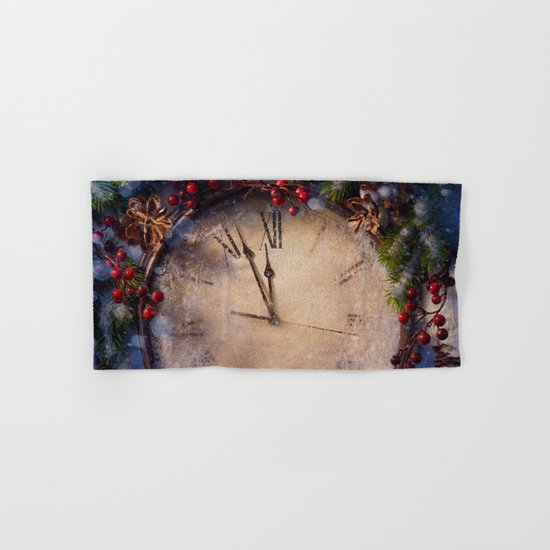 Frozen time winter wonderland Hand & Bath Towel