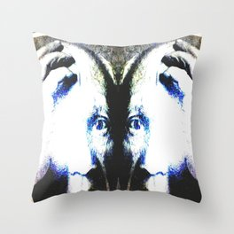 P the CASSO «the body in the middle» Throw Pillow