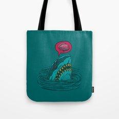 The Zombie Shark Tote Bag