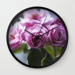 Springtime Pink II Wall Clock