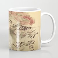 mucha Mugs featuring mucha chicano by paolo de jesus
