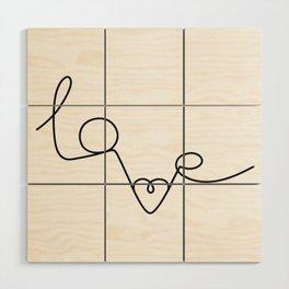 Woman & LoveMe Wood Wall Art