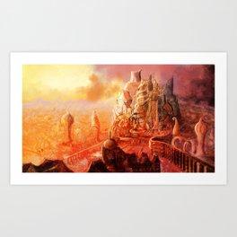Conceptual Cityscape Art Print
