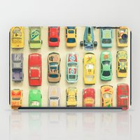 boys iPad Cases featuring Car Park by Cassia Beck