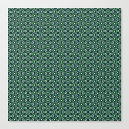 Green Cells Canvas Print