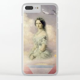 Girl's Dreams Clear iPhone Case