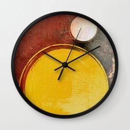 Kuaray and Jacy (Sun and Moon) Wall Clock