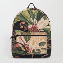 Birds are my Real Origin Reversed Backpack