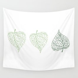 Linden leaves Wall Tapestry