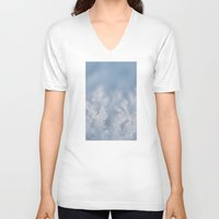 frozen V-neck T-shirts featuring Frozen by Iveta S.