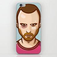 jesse pinkman iPhone & iPod Skins featuring Jesse Pinkman by Sherif Adel