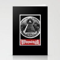 illuminati Stationery Cards featuring Illuminati  by Spyck