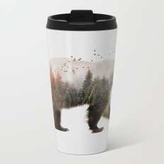 Bear Metal Travel Mug